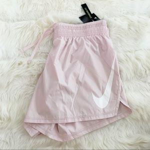 🌸 NIKE Baby Pink Shorts Running Gym Pants NWT